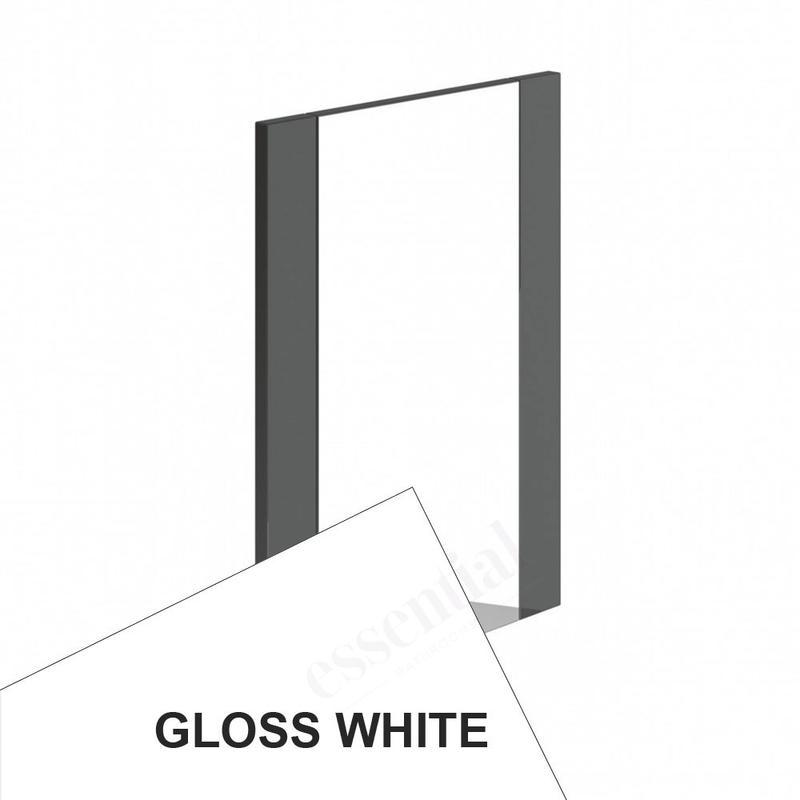 Essential Nevada Bathroom Mirror 450x600mm White