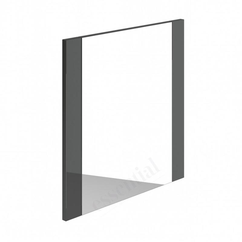 Essential Nevada Bathroom Mirror 600x600mm Grey