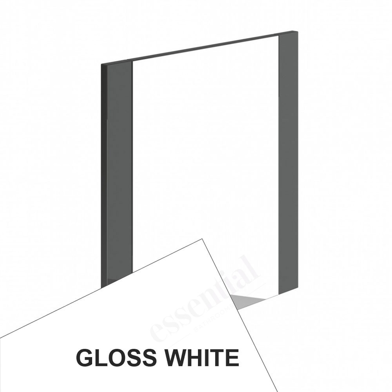 Essential Nevada Bathroom Mirror 600x600mm White