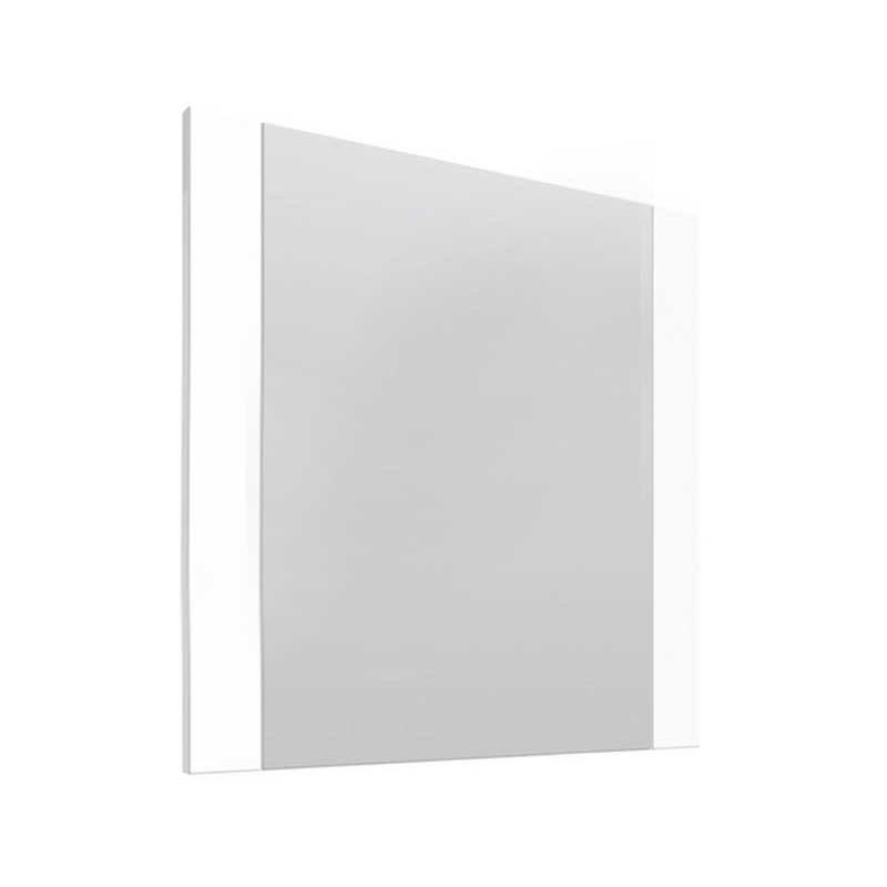 Essential Vermont White Gloss Rectangular Mirror 450x600mm