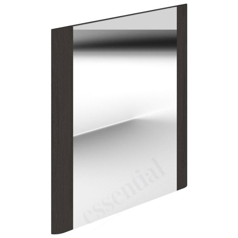 Essential Vermont Bathroom Mirror 600x600mm Dark Grey