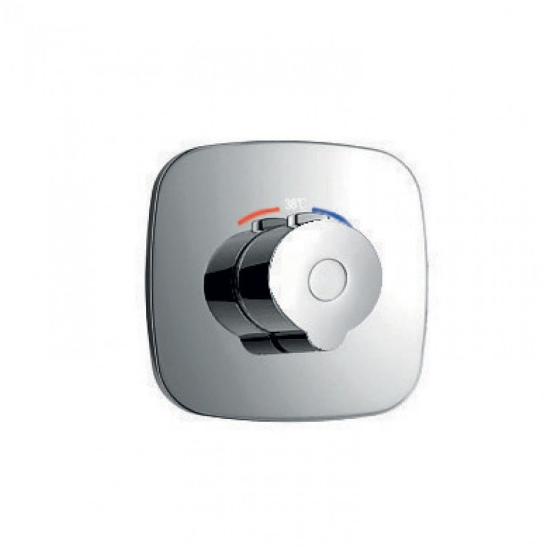 Flova Allore Concealed Thermostatic Mixer Valve Only
