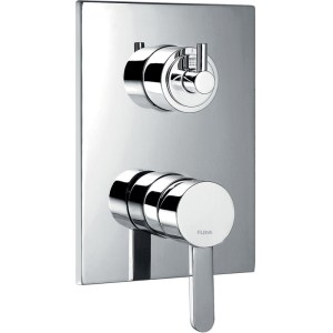 Flova Essence Concealed Manual Shower Mixer with 3-Way Diverter