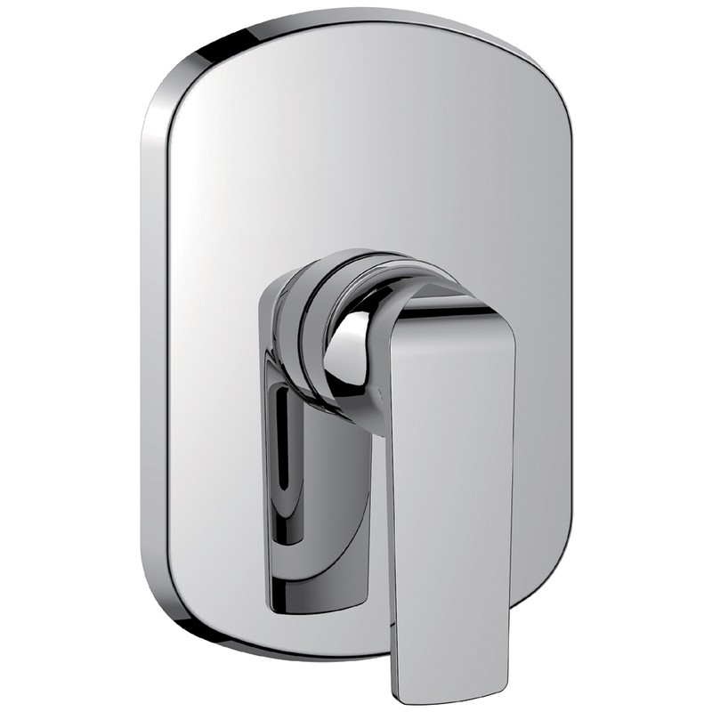 Flova Fusion Concealed Manual Shower Mixer (Large Plate)