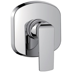 Flova Fusion Concealed Manual Shower Mixer (Small Plate)