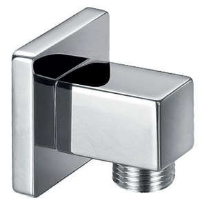 Flova Square Wall Outlet Elbow