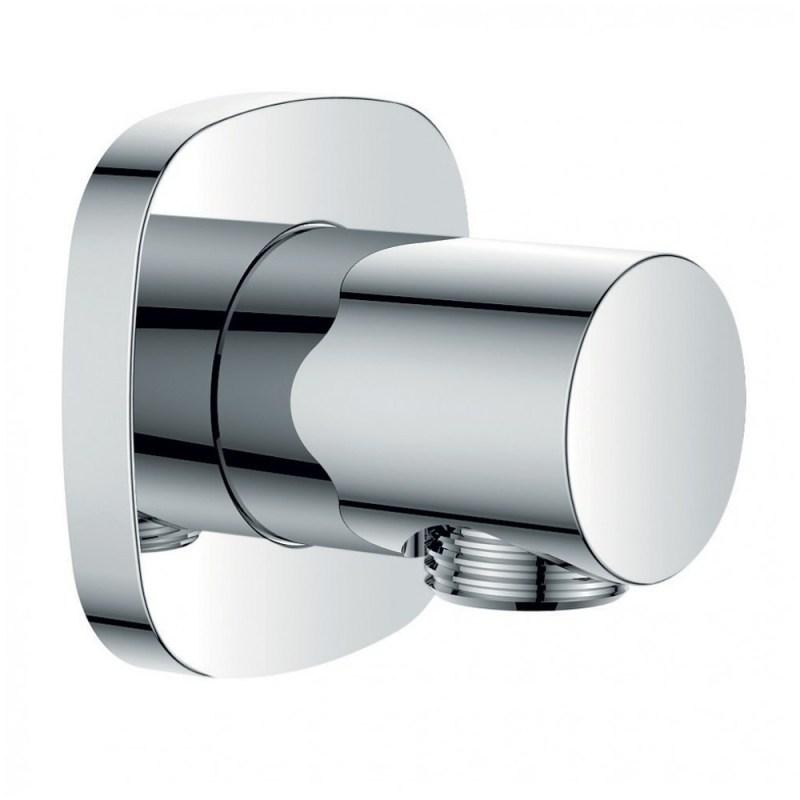 Flova Brass Wall Outlet Elbow