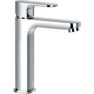 Flova Smart Mid Height Single Lever Basin Mixer with Waste