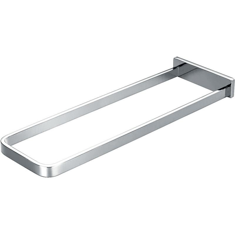 Flova Sofija Brass Rectangular Bar Towel Rail