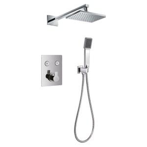 Flova Spring GoClick Thermostatic 2 Outlet Shower Set