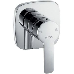 Flova Urban Concealed Manual Shower Mixer with Dual Outlet