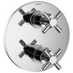 Flova XL Slim Round 2 Outlet Shower Trim Kit Only