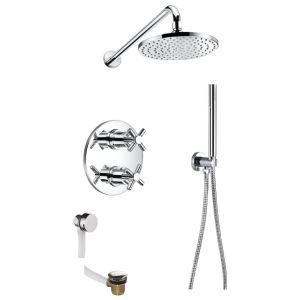 Flova XL Thermostatic 3 Outlet Shower Set