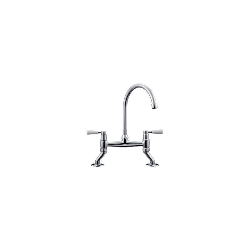Franke Professional Bridge Lever Kitchen Sink Mixer Chrome