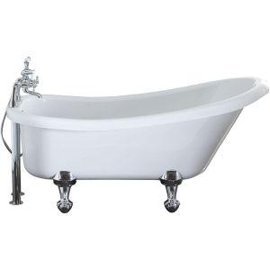Aquabathe Camden 1500x750mm Freestanding Bath Dust Grey