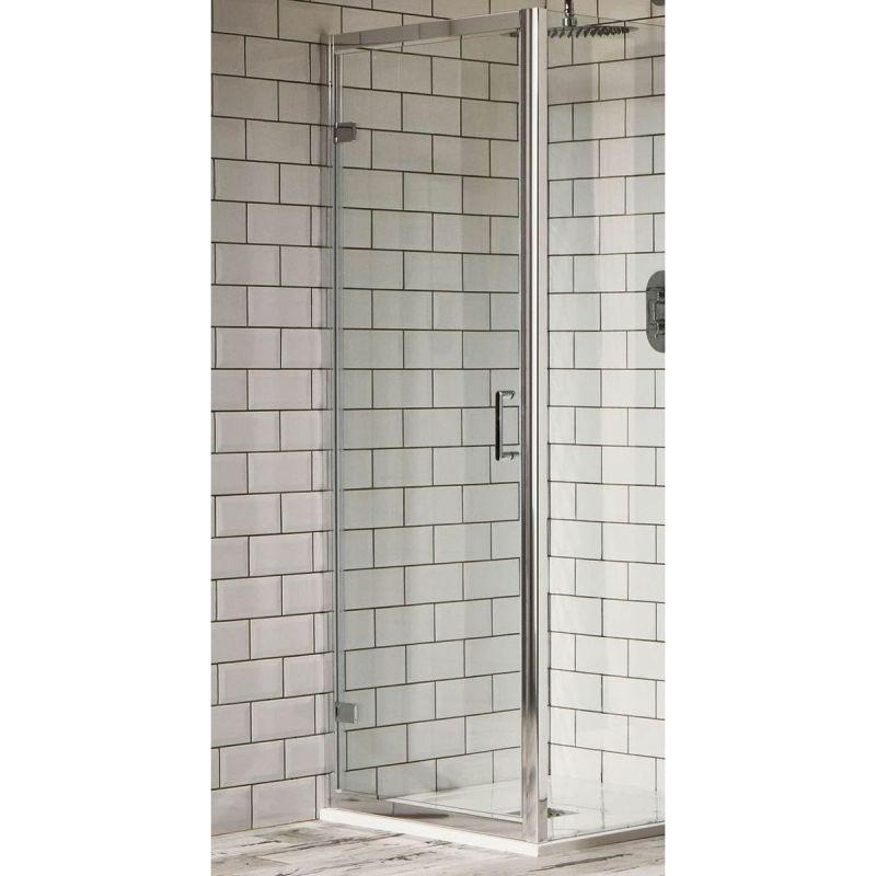 Aquaglass Purity 800mm Hinged Pivot Door