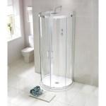 Aquaglass Purity 993x850mm D Shaped Quadrant Enclosure