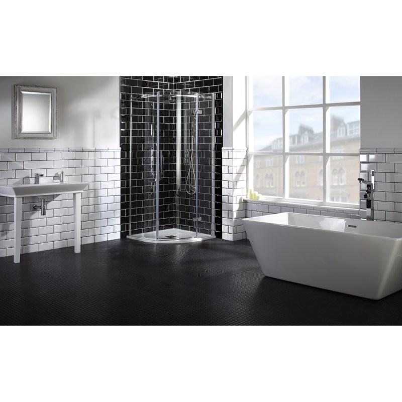Aquaglass  Elegance 1000x1000mm Quadrant RH Enclosure