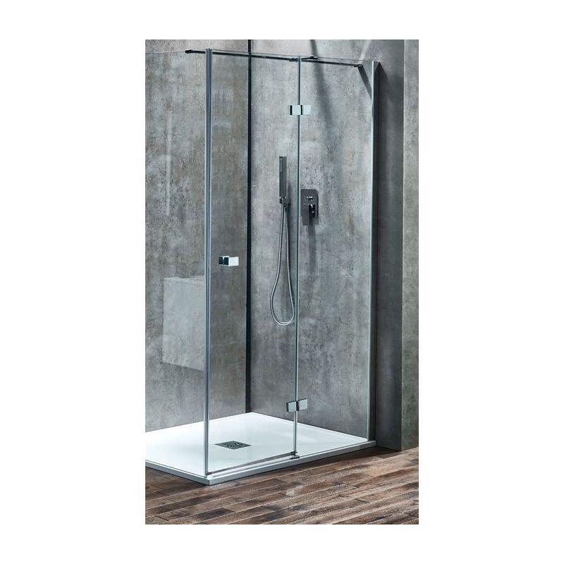 Aquaglass  Linear 1400mm Hinge Door Right