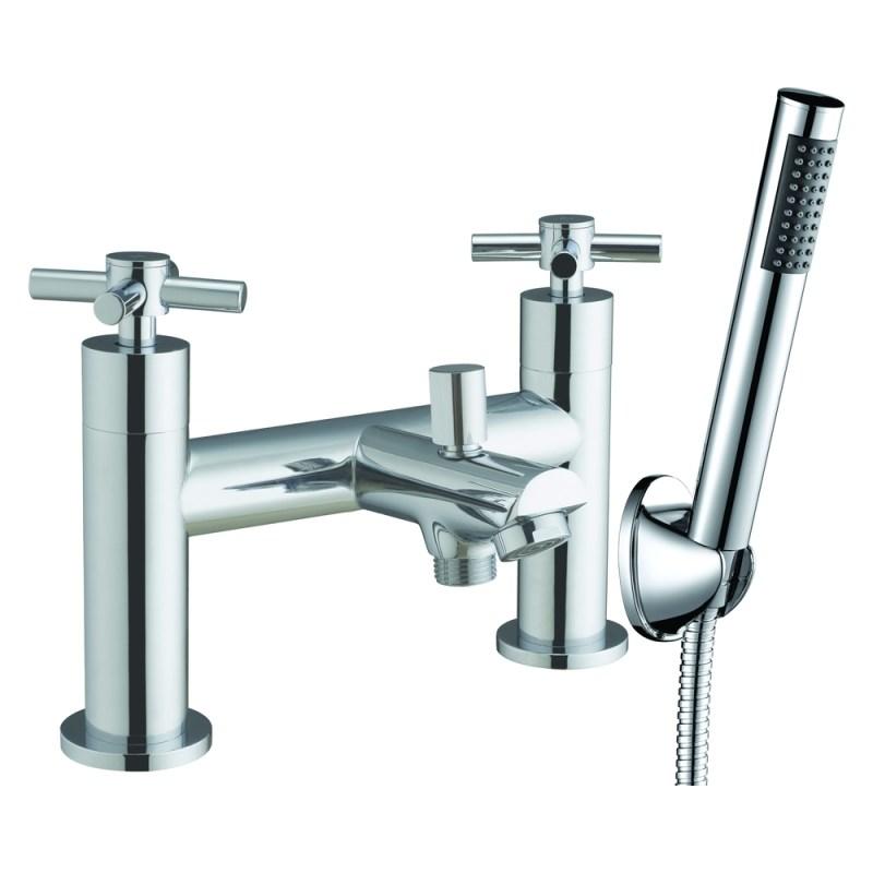 Aquaflow Fusion X Head Bath Shower Mixer