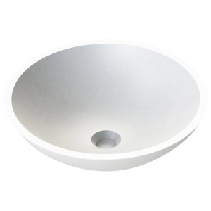 Aquanatural Prince 420mm Round Solid Surface Basin