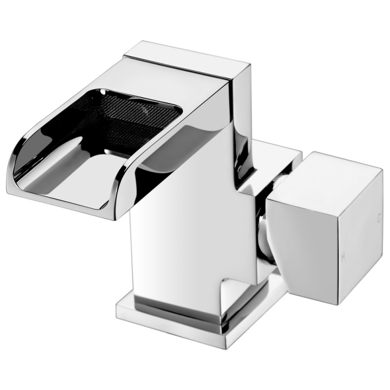 Aquaflow Trac Mono Basin Mixer with Click Clack Waste