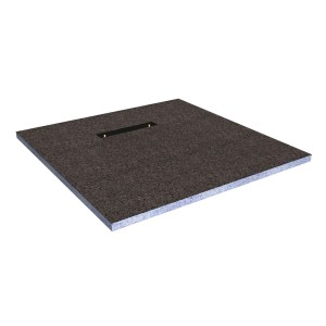 Frontline Level Tray Kit 2L - 1200x1200mm Tileable Tray & Waste