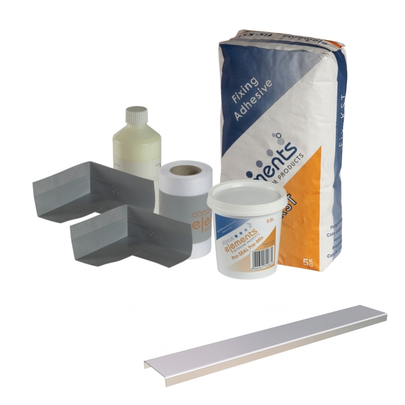 Frontline Shower Tray Install Pack - Linear Waste