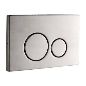 Frontline Iso Flush Plate Brushed Steel