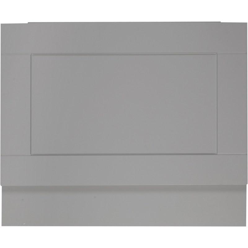 Holborn Dust Grey 750mm End Bath Panel
