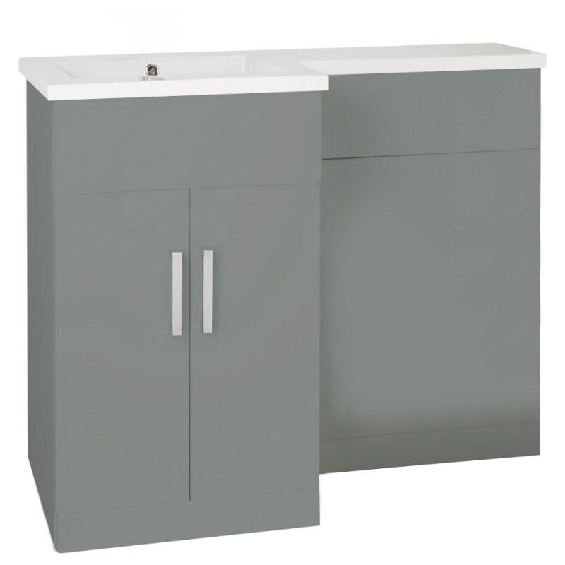Aquatrend Petite Dust Grey WC Unit