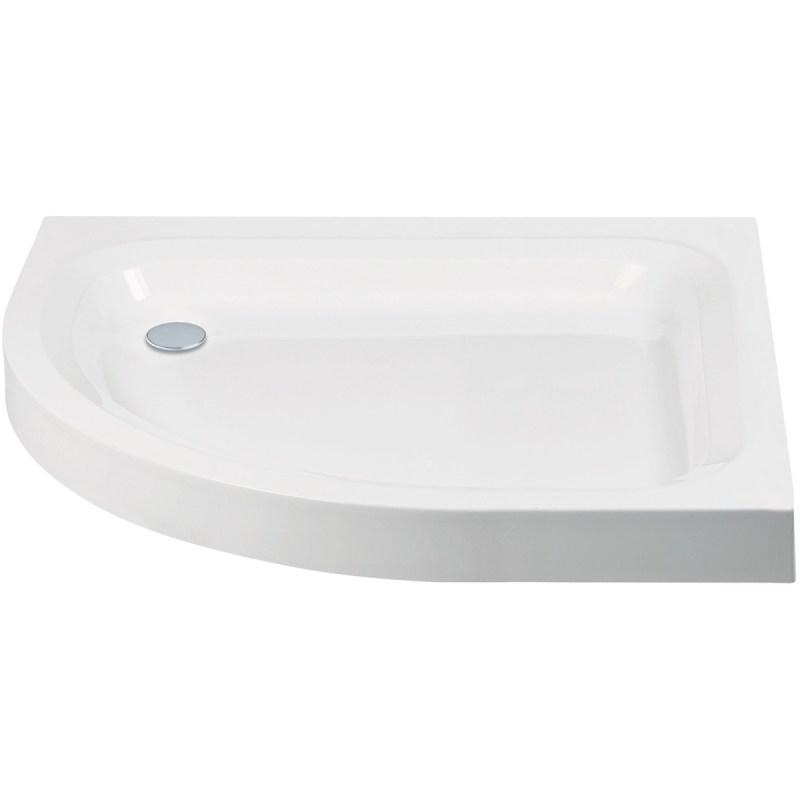 Aquaglass 1200x900mm Quadrant LH Shower Tray