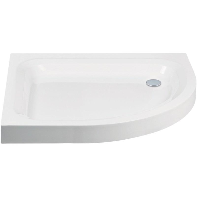 Aquaglass 900x760mm Quadrant RH Shower Tray