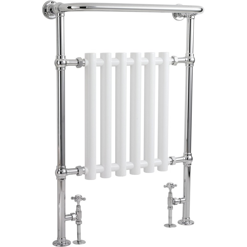 Frontline Empire Traditional Towel Warmer Chrome 963x673mm