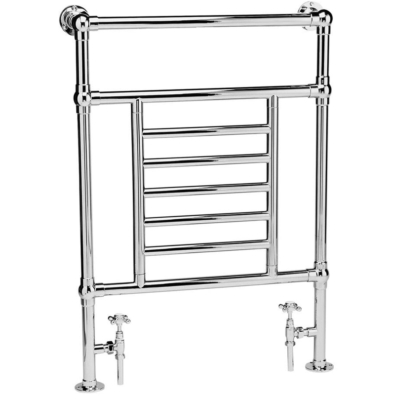 Frontline Statton Traditional Towel Warmer Chrome 963x673mm