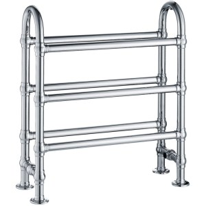 Frontline State Traditional Towel Warmer Chrome 778x683mm