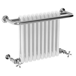 Frontline Edwardian Towel Warmer Chrome/White 491x741mm