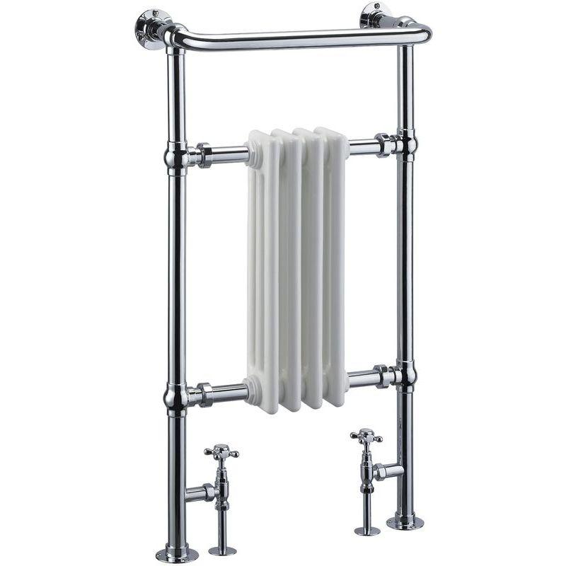 Frontline Radley Traditional Towel Warmer Chrome 963x493mm