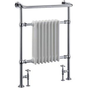 Frontline Academy Traditional Towel Warmer Chrome 963x673mm