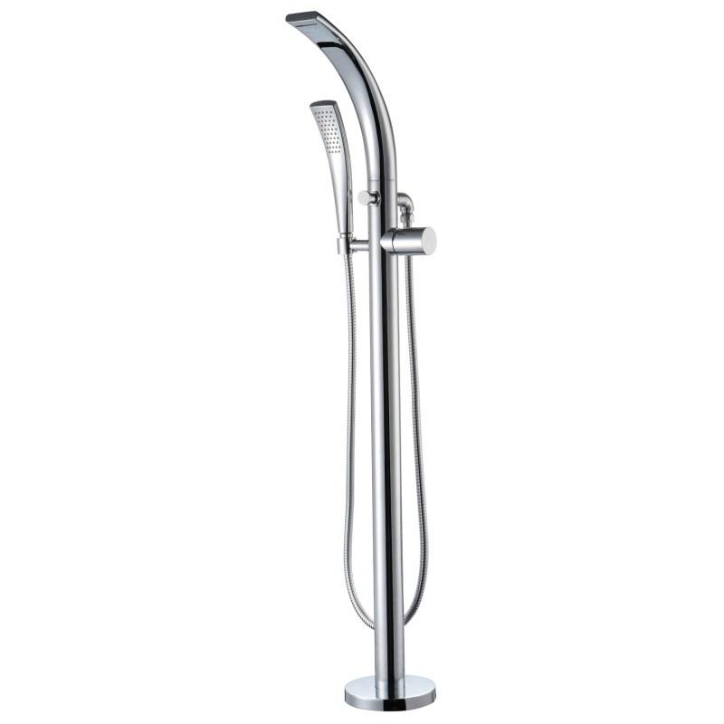 Aquaflow Garda Freestanding Bath Shower Mixer Tap