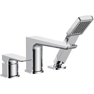 Aquaflow Sabre 3 Hole Bath Shower Mixer