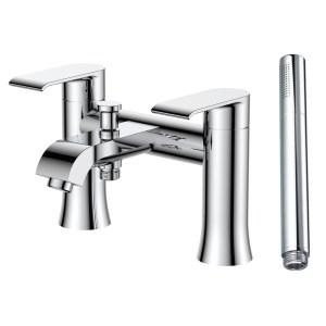 Aquaflow Basque Lever-Handle Bath Shower Mixer