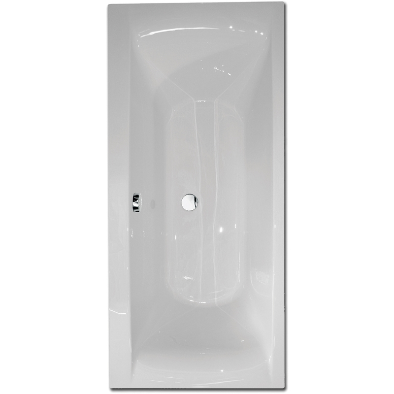 Aquabathe Oporto 1700 x 800mm Double Ended Bath