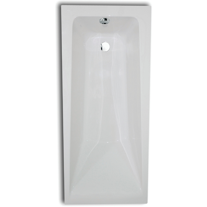 Aquabathe Atlanta 1700 x 700mm Tungstenite Bath