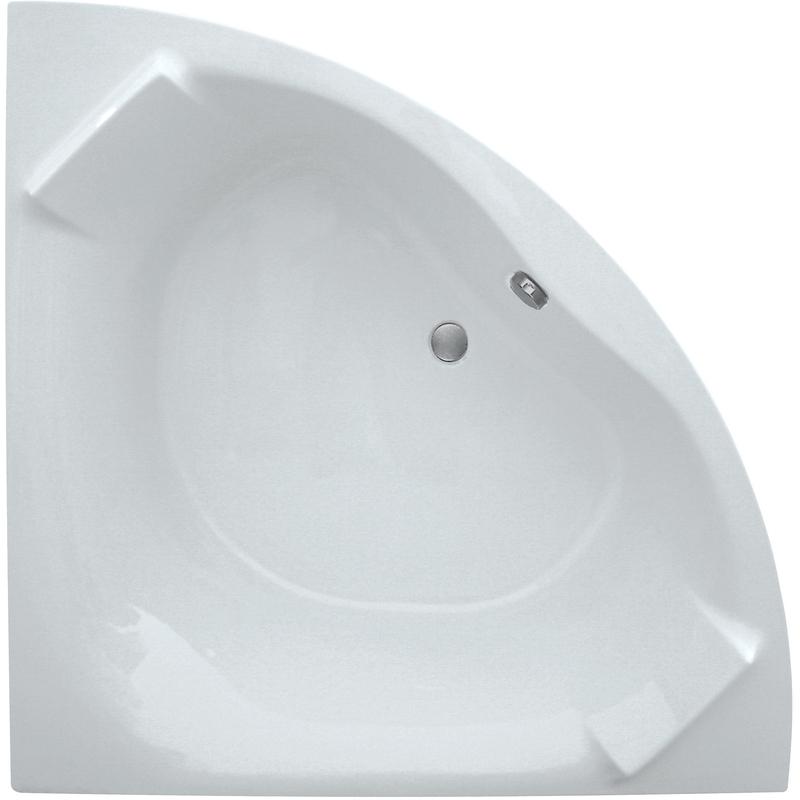 Aquabathe Luxe 1400 x 1400mm Corner Bath with Built Headrest