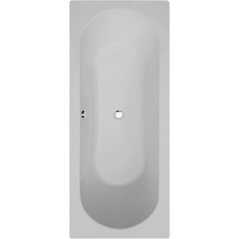 Aquabathe Duo 1700 x 700mm Double Ended Tungstenite Bath