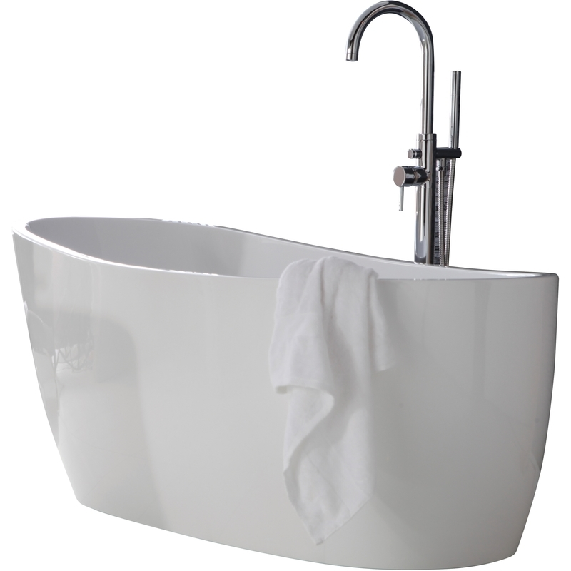 Aquabathe Pano 1800 x 800mm Luxury Freestanding Slipper Bath