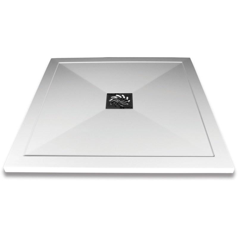 Aquaglass Slimline Square Shower Tray 1000x1000mm