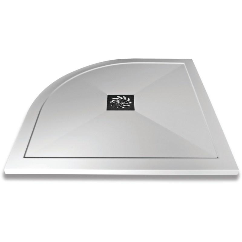 Aquaglass 800mm Slimline Quadrant Shower Tray