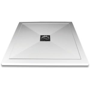 Aquaglass 800x800mm Slimline Shower Tray